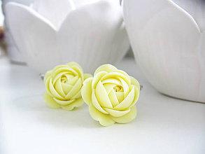 Náušnice - Citron, visací náušnice - 8294282_