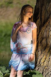 Sukne - Sukňa šitá, batikovaná, maľovaná, etno LALITÁ     - 8293861_