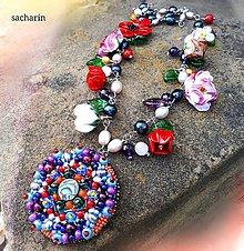 Náhrdelníky - Snívaj svoj sen- bohémsky náhrdelník - 8294189_