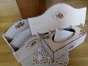 Krabičky - Set béžový Shabby Chic - 8294253_
