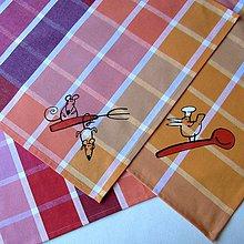 Úžitkový textil - HAVĚŤKY v KUCHYNI - utěrka - 8292602_