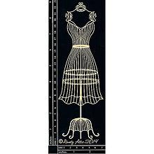 Papier - Dusty Attic - Wire Dress Form - Drôtená figurína (veľká) - 8291312_