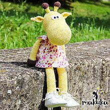 Hračky - Žirafa Ella - 8291205_
