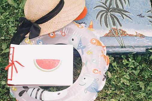 Papiernictvo - Klasický fotoalbum, polyetylénový obal s potlačou melóna (dočasne nedostupné)  - 8293045_