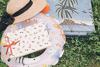 Papiernictvo - Fotoalbum klasický, polyetylénový obal s pestrou letnou potlačou - 8292976_