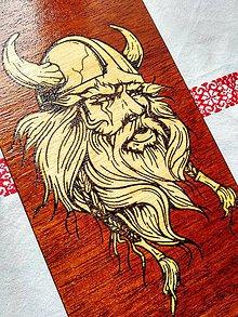 Nezaradené - Drevený obraz - Viking - 8291551_