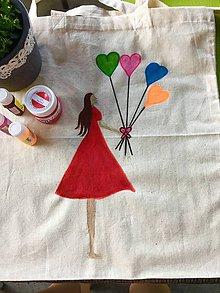 Kabelky - Maľovaná taška - 8294420_