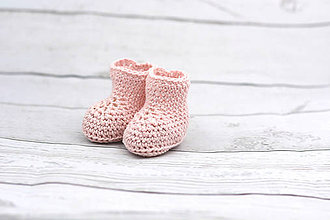 Topánočky - Ružové papučky EXTRA FINE - 8291925_