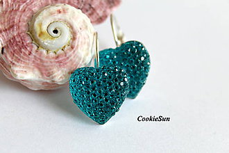 """Náušnice - Náušnice """"Shiny Hearts"""" (Shiny Hearts) - 8294541_"""