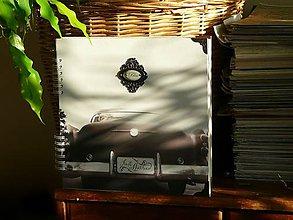 Papiernictvo - Svadobný fotoalbum BLISS-požehnanie-RETRO-dnes zľava % - 8294344_