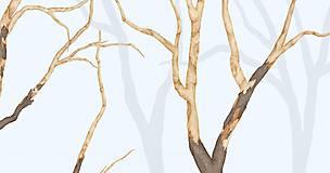 Grafika - RAVEN IN FOREST - BLUE - 8292447_