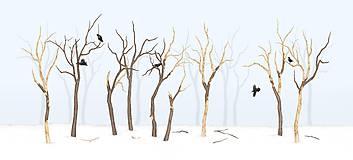 Grafika - RAVEN IN FOREST - BLUE - 8292461_