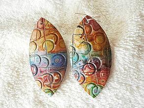 Náušnice - Náušnice z polyméru, *bublinky - 8292500_