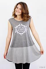 Tričká - Dámske tričko BAMBUS 07 LET LOVE LEAD - 8292189_