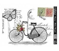 Papier - Transferový obrázok na textil 25 x 35 cm, FT-06 - 8295274_