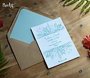 Papiernictvo - Svadobné oznámenie 28 - 8295955_