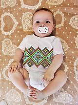 Detské oblečenie - Detské body výšivka 16 - 8298516_