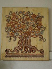 Obrazy - Obraz-strom -obdobia života - 8296048_