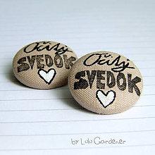 Pierka - Odznak pre Očitého SVEDKA - 8297476_