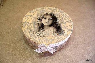 Krabičky - dyhová šperkovnica Nostalgia II. - 8297918_