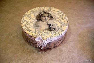 Krabičky - dyhová šperkovnica Nostalgia I. - 8297926_