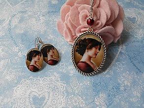 Sady šperkov - Lady v bordó III. - 8297351_