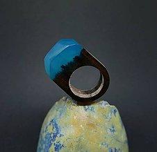 Prstene - Drevený prsteň: Hmla nad mestom - 8297311_