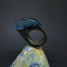 Prstene - Drevený prsteň: Hlbiny času - 8297452_