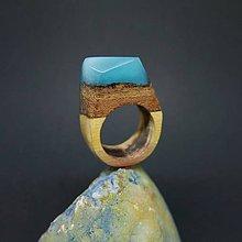 Prstene - Drevený prsteň: Nebo a zem - 8297498_