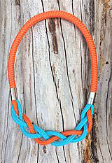 Náhrdelníky - 2V1 náhrdelník - náramok - 8297741_