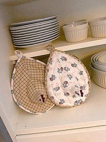 Úžitkový textil - origo chňapky 153 - 8296588_