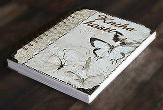 Papiernictvo - Svadobná kniha hostí,svadobný album,rady do manželstva - 8298209_