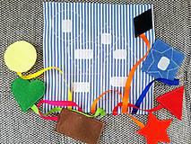 Hračky - Quiet book 27. - 8298319_