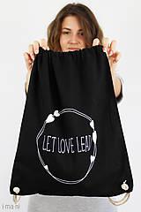 - Batoh LET LOVE LEAD - 8295892_