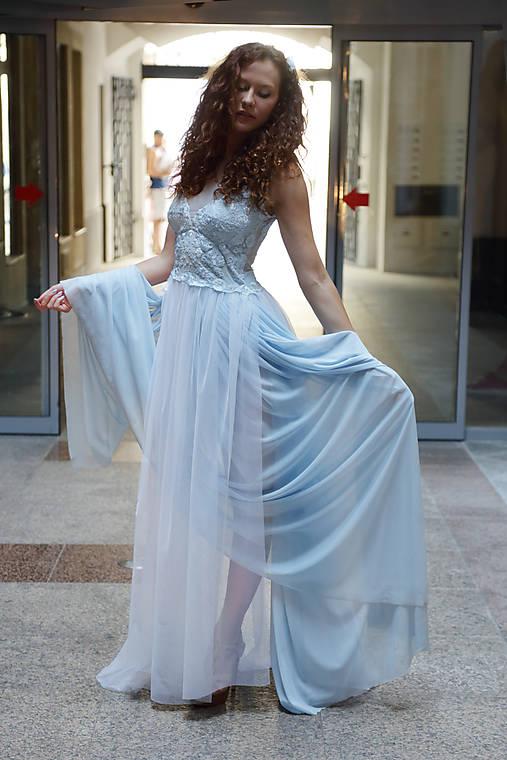 Šaty Beláska   ceccilia - SAShE.sk - Handmade Šaty 01fb0160aee