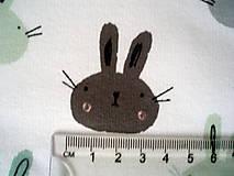 Textil - Teplákovina - BUNNIES - 8300246_