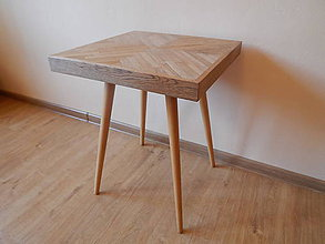 Nábytok - Retro príručný stolík (Retro coofee table) - 8300384_