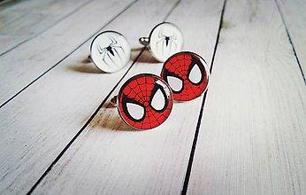 Šperky - Sada manžetových gombíkov Spiderman - 8302146_