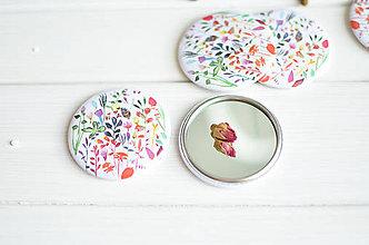 Zrkadielka - Zrkadielko Kvety - 8301696_