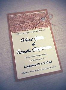 Papiernictvo - Svadobné oznámenie DVAJA - 8301480_