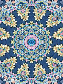 Obrazy - Kaleidoskop Akvarel 30x40cm Art Print na papieri - 8299573_