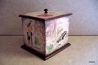 Krabičky - drevená šperkovnica Avenue - 8301717_