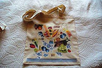 Nákupné tašky - ľanová nákupná taška Drink - 8301814_
