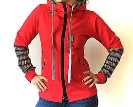 Mikiny - Mikina s kapucí 100% bavlna - 8298739_