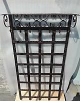 Nábytok - Kovaná vešiaková stena s policou - 8302129_