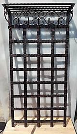 Nábytok - Kovaná vešiaková stena s policou - 8302130_
