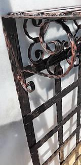 Nábytok - Kovaná vešiaková stena s policou - 8302132_