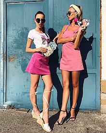 Sukne - SMART PINK skirt - 8301685_