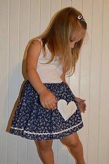 Detské oblečenie - Pískacia sukňa - 8301984_