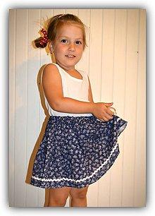 Detské oblečenie - Pískacia sukňa - 8301985_